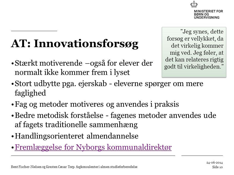 AT: Innovationsforsøg