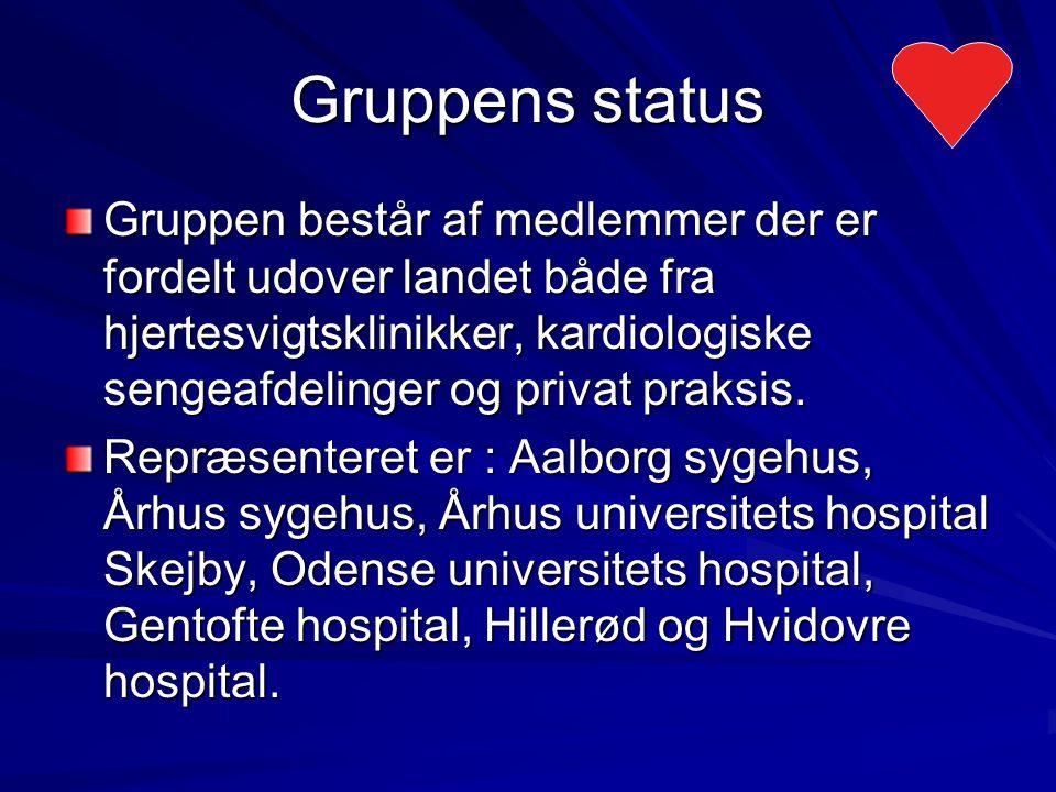 Gruppens status