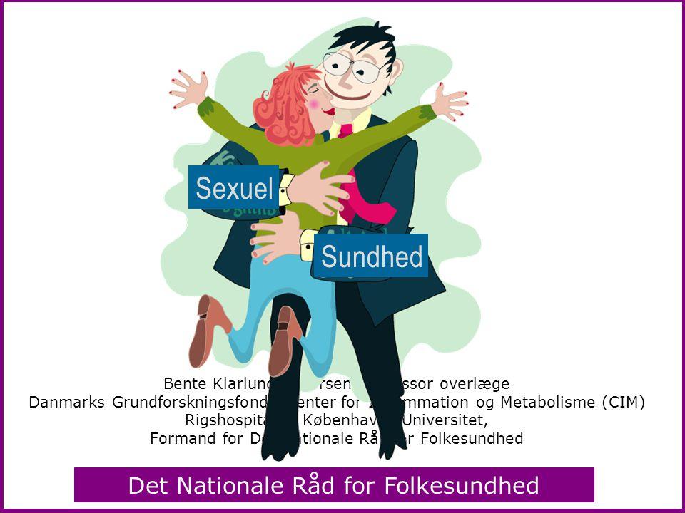 Sexuel Sundhed Bente Klarlund Pedersen, professor overlæge