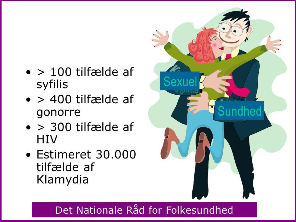 Sexuel Sundhed > 100 tilfælde af syfilis