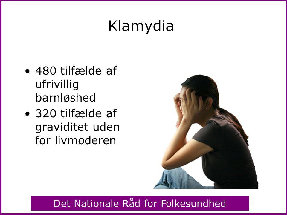 Klamydia 480 tilfælde af ufrivillig barnløshed