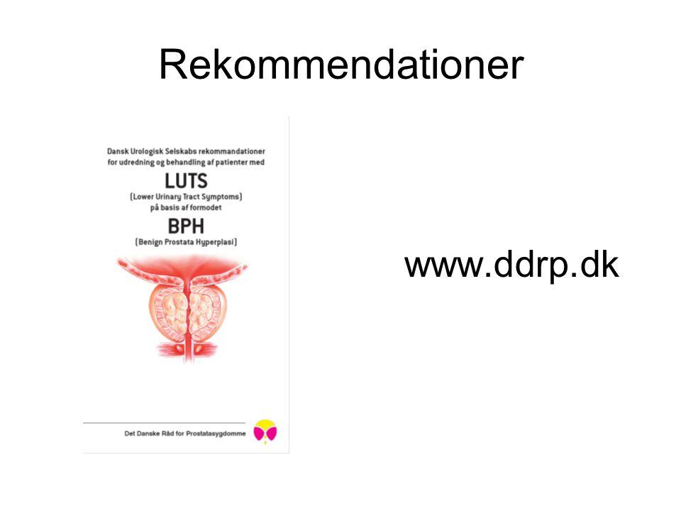 Rekommendationer www.ddrp.dk