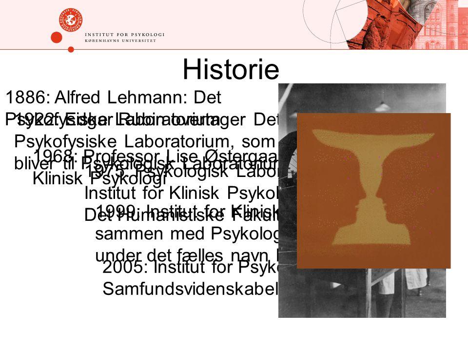 Historie 1886: Alfred Lehmann: Det Psykofysiske Laboratorium
