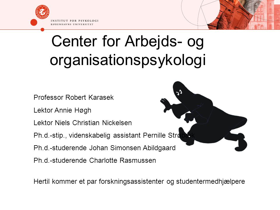 Center for Arbejds- og organisationspsykologi