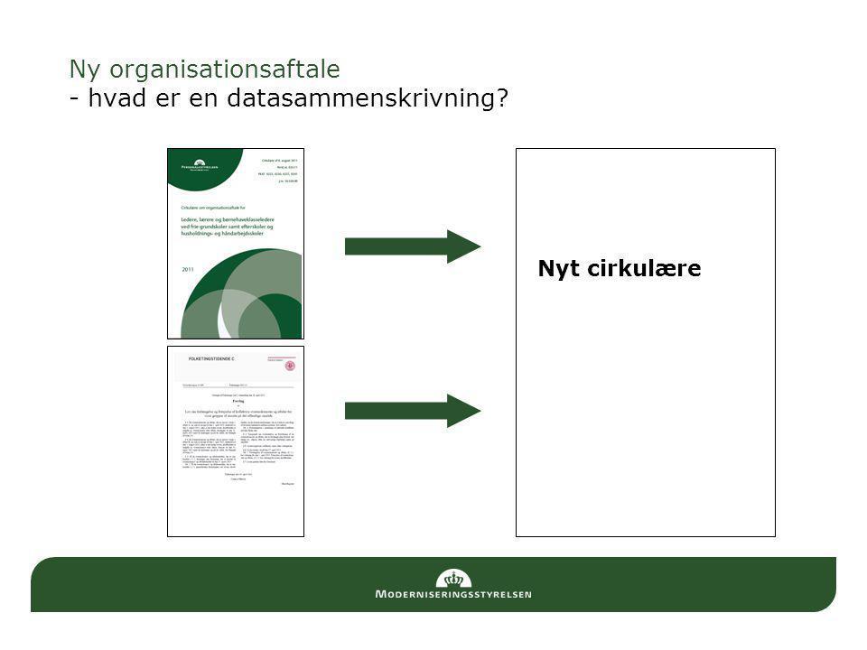 Ny organisationsaftale - hvad er en datasammenskrivning