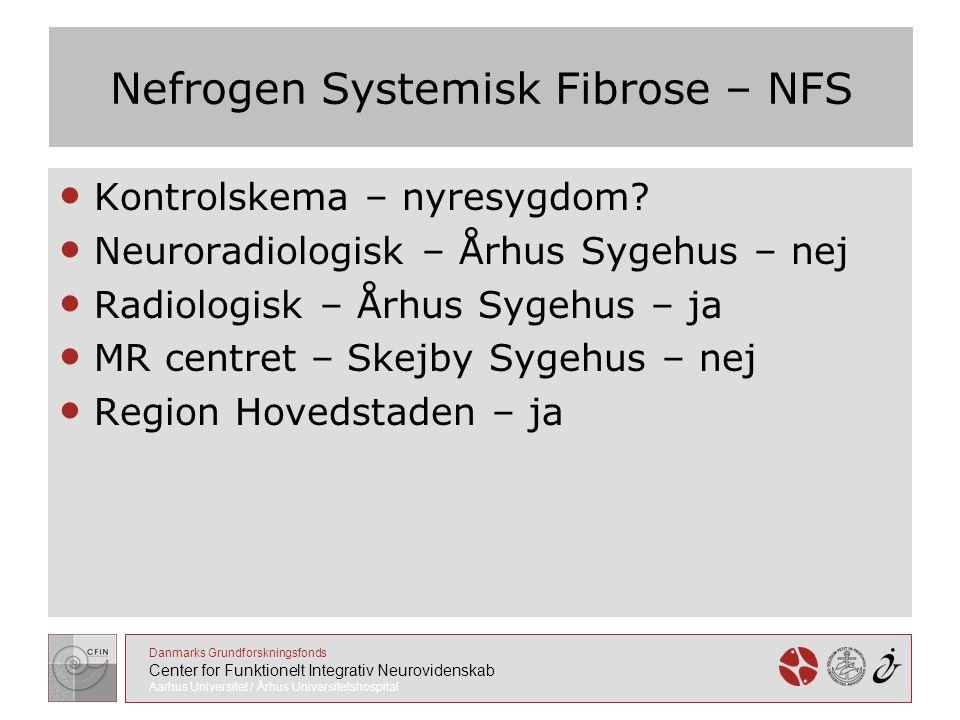 Nefrogen Systemisk Fibrose – NFS