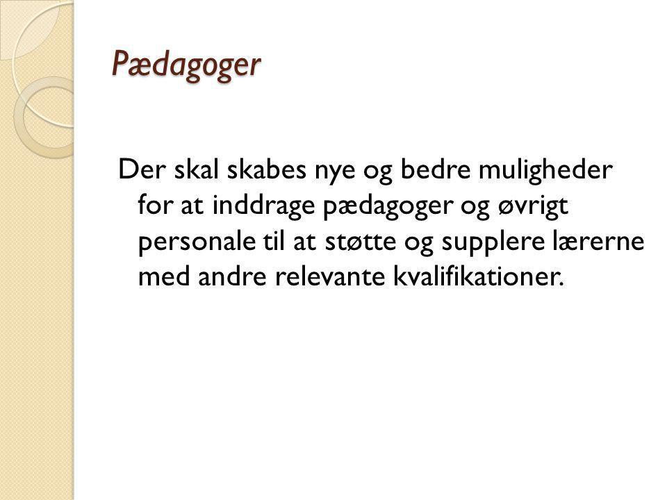 Pædagoger