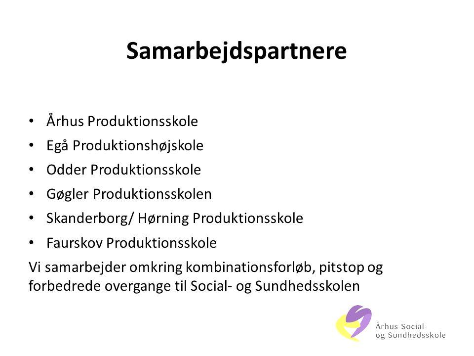 Samarbejdspartnere Århus Produktionsskole Egå Produktionshøjskole