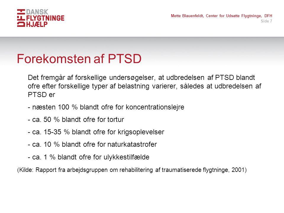 Mette Blauenfeldt, Center for Udsatte Flygtninge, DFH
