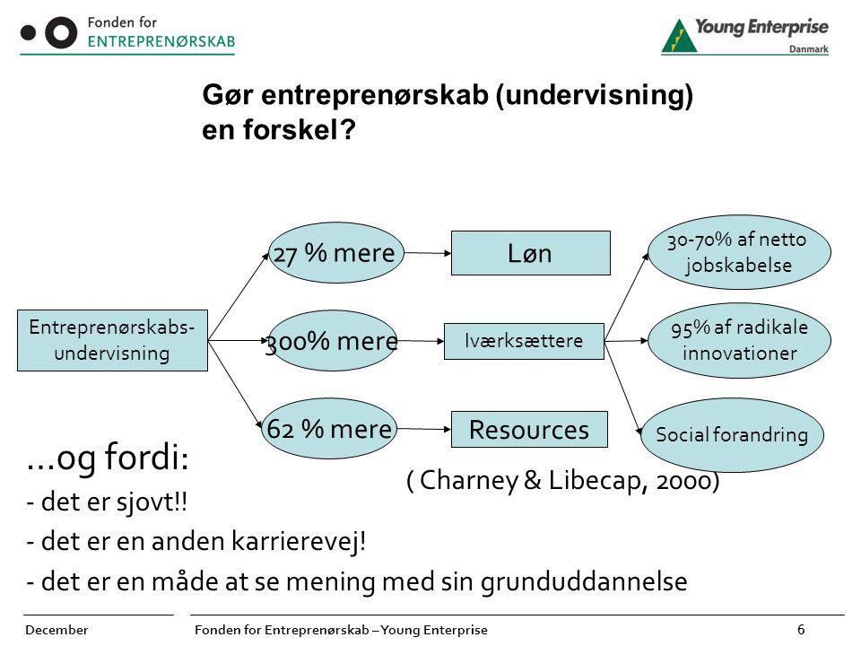 Entreprenørskabs-undervisning