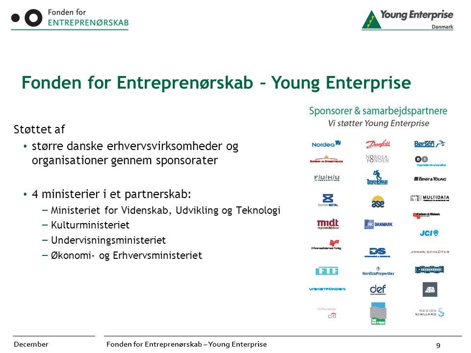 Fonden for Entreprenørskab – Young Enterprise