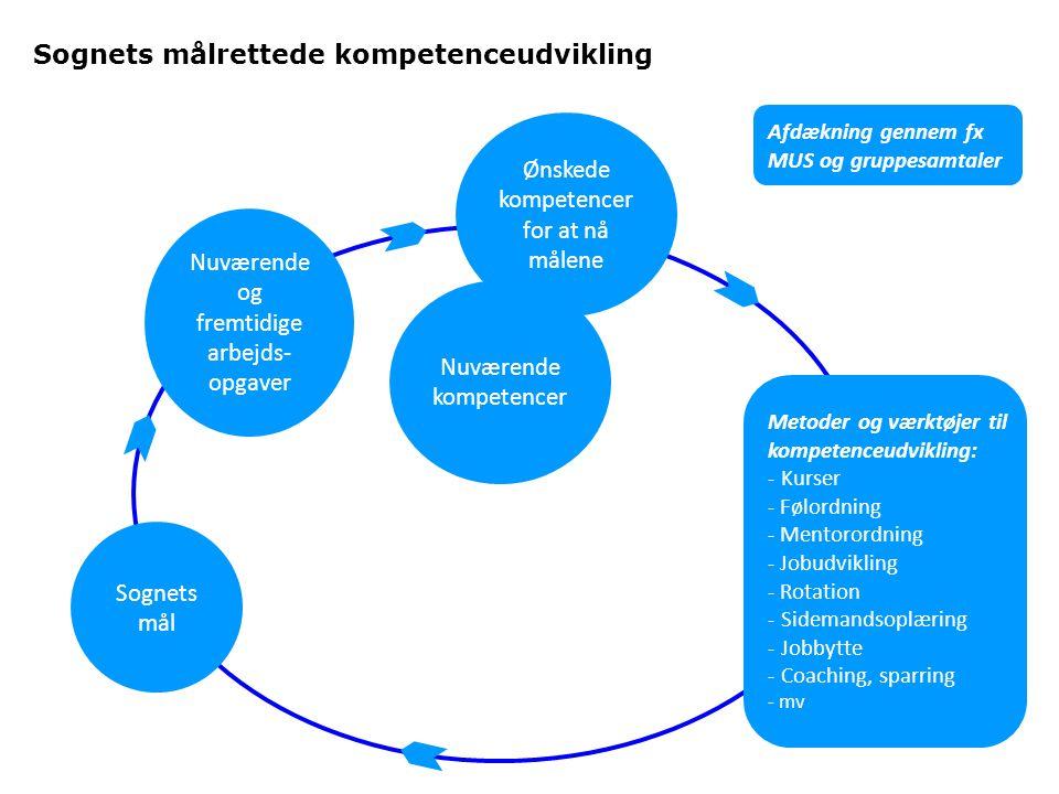Sognets målrettede kompetenceudvikling