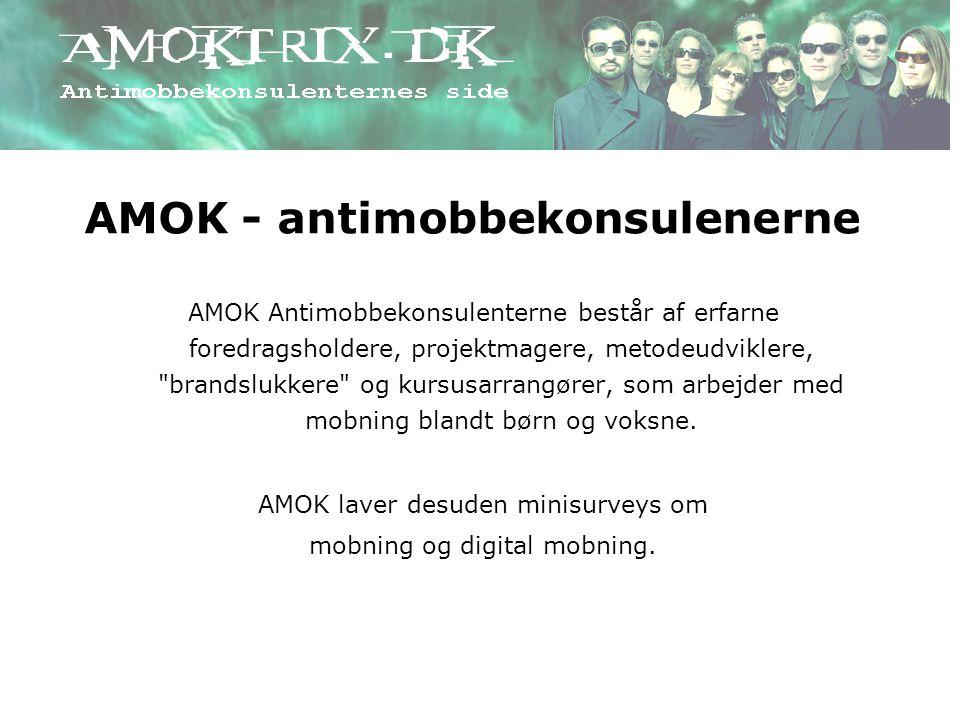 AMOK - antimobbekonsulenerne