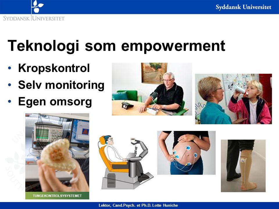 Teknologi som empowerment