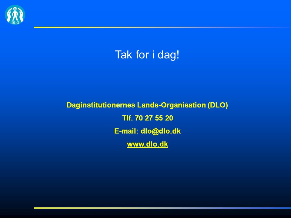 Daginstitutionernes Lands-Organisation (DLO)