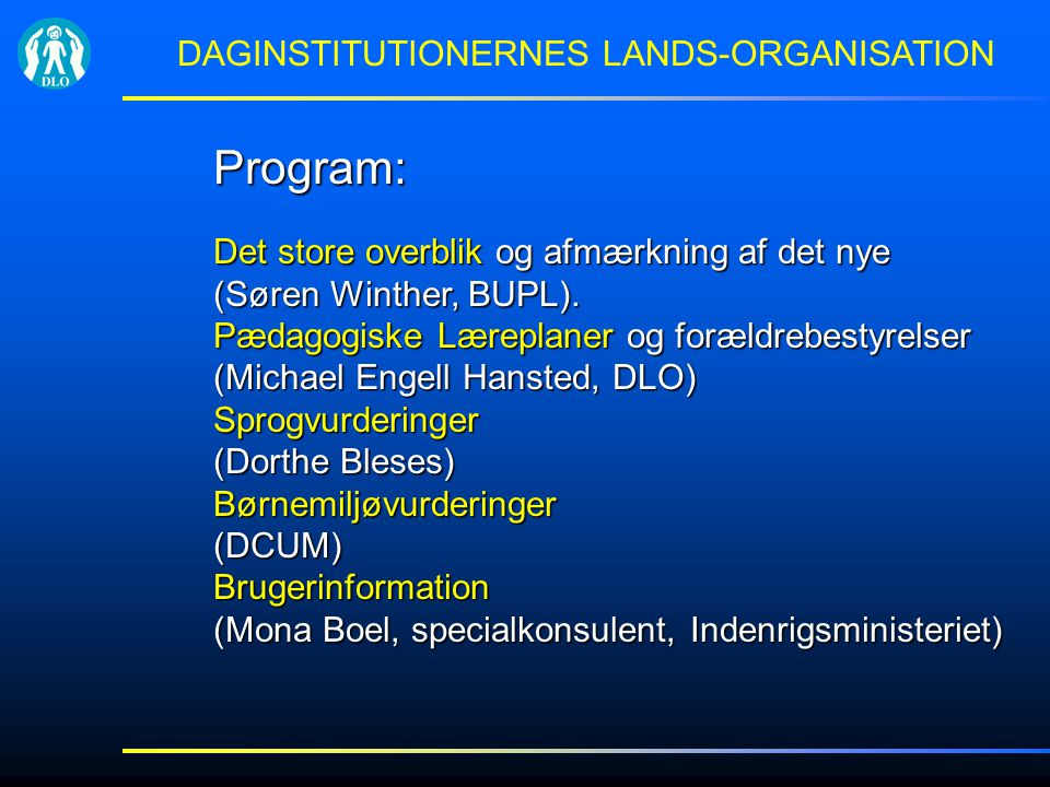 DAGINSTITUTIONERNES LANDS-ORGANISATION