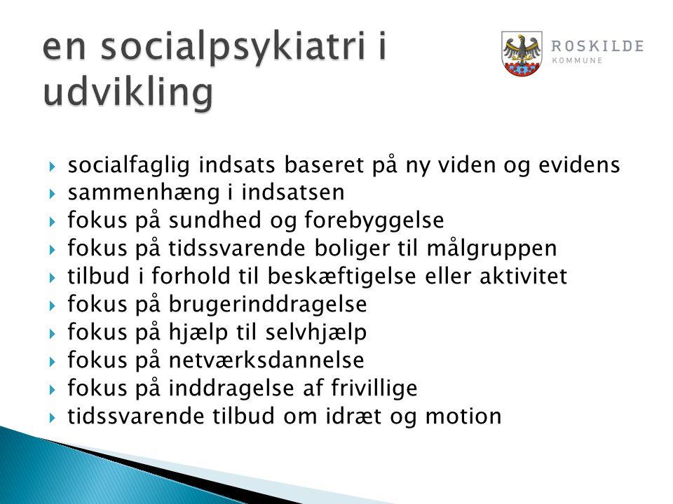 en socialpsykiatri i udvikling