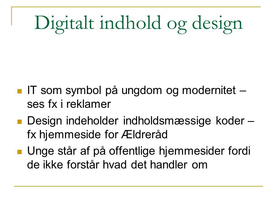 Digitalt indhold og design
