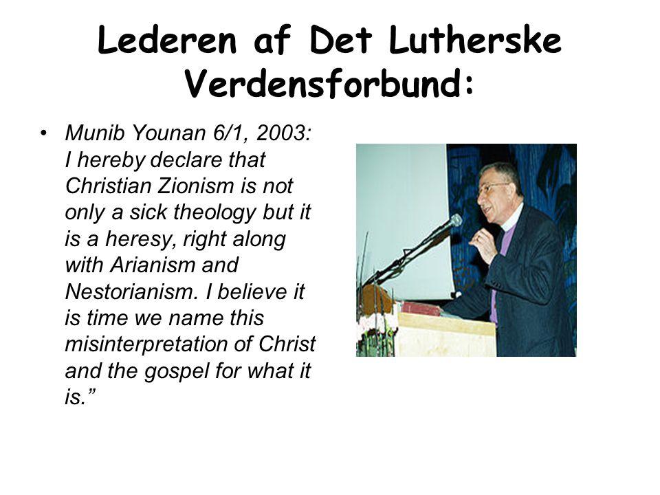 Lederen af Det Lutherske Verdensforbund: