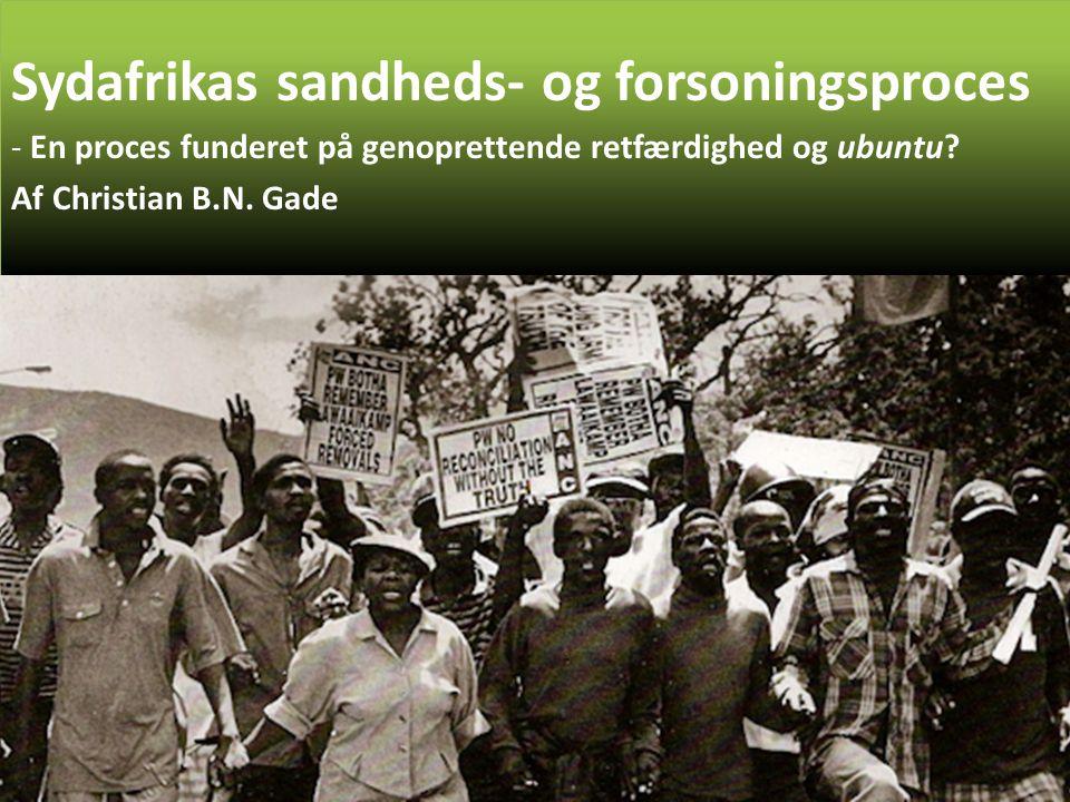 Sydafrikas sandheds- og forsoningsproces