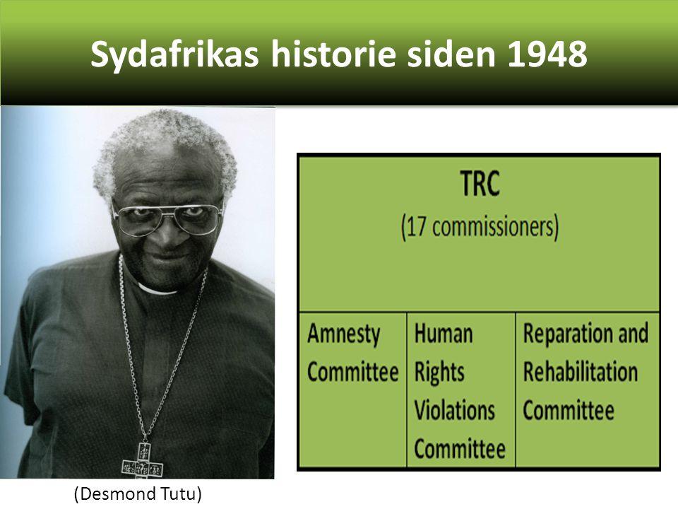 Sydafrikas historie siden 1948