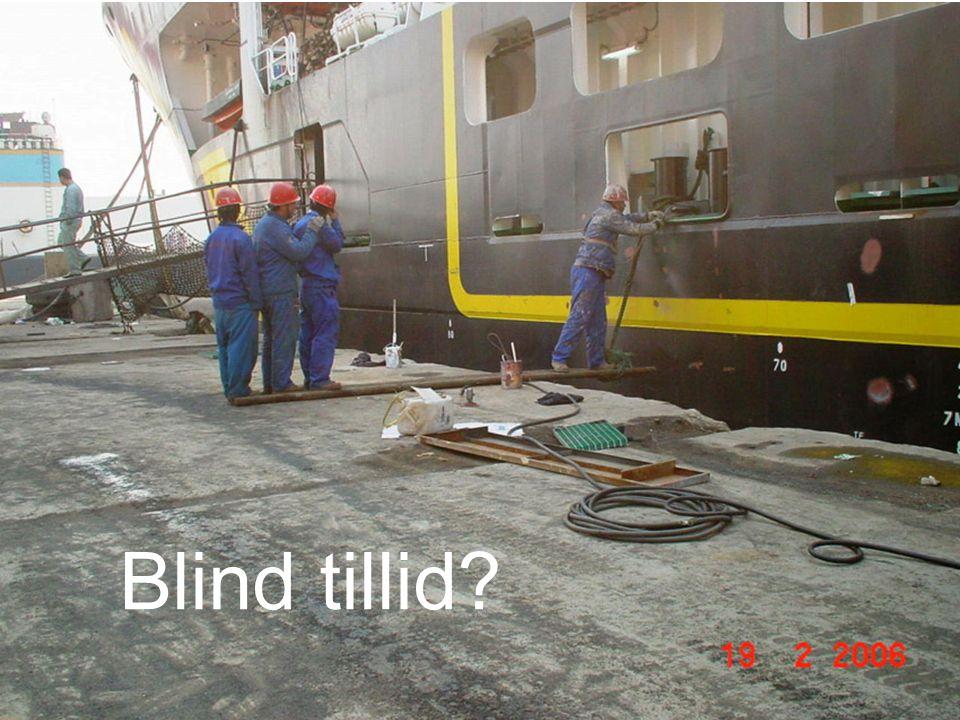 Blind tillid