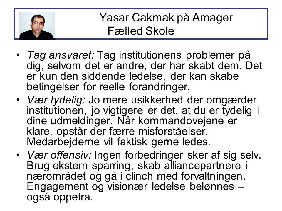 Yasar Cakmak på Amager Fælled Skole