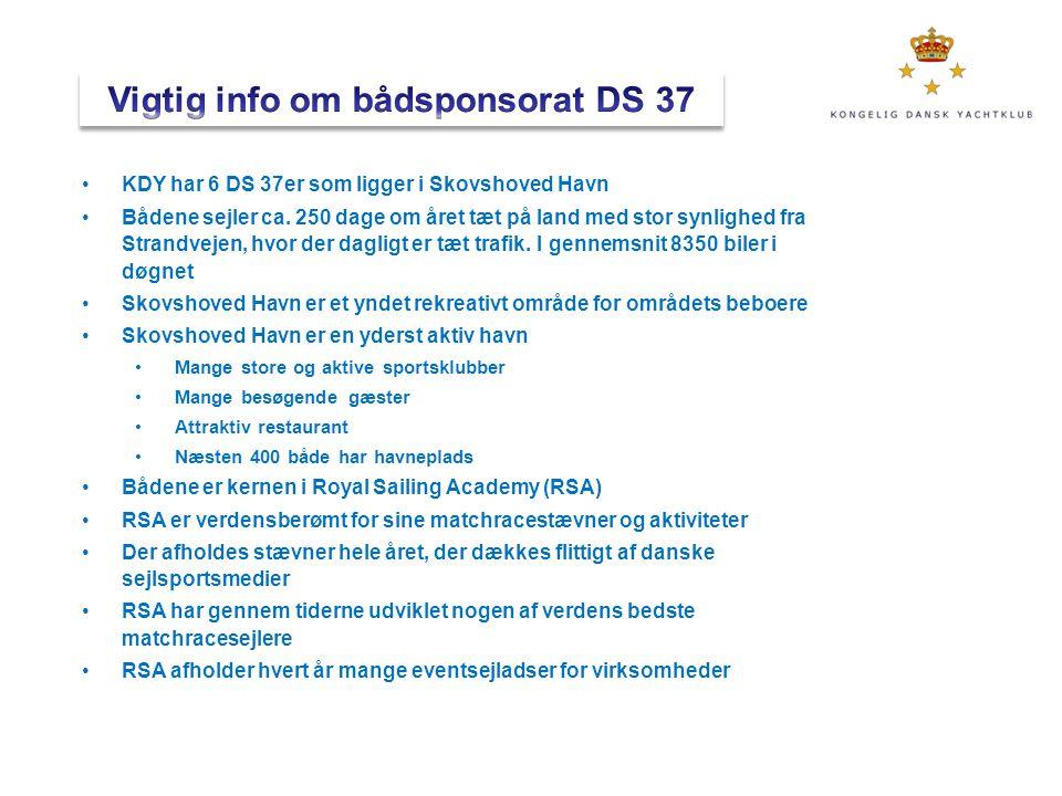 Vigtig info om bådsponsorat DS 37