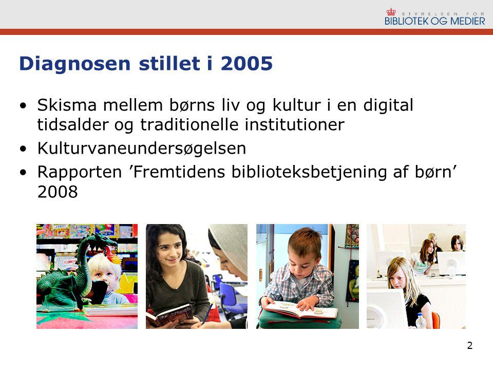 Diagnosen stillet i 2005 Skisma mellem børns liv og kultur i en digital tidsalder og traditionelle institutioner.