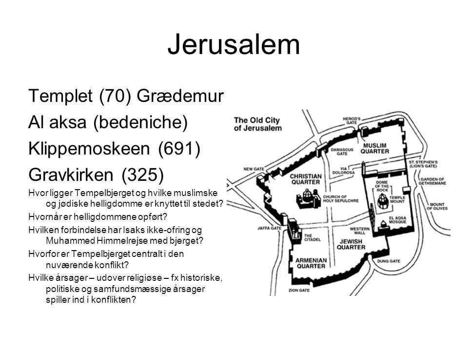 Jerusalem Templet (70) Grædemur Al aksa (bedeniche)