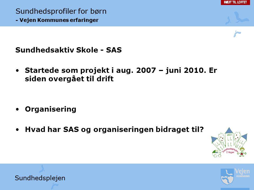 Sundhedsaktiv Skole - SAS