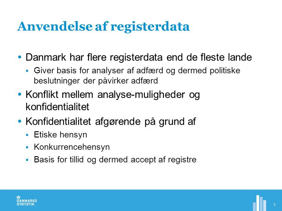 Anvendelse af registerdata