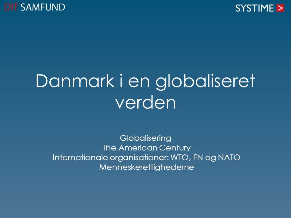 Danmark i en globaliseret verden
