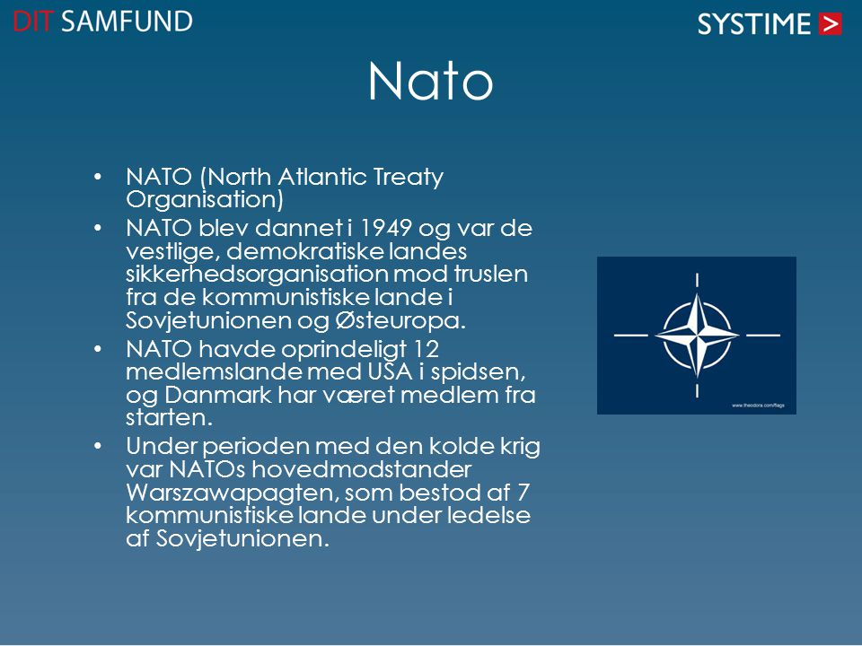Nato NATO (North Atlantic Treaty Organisation)