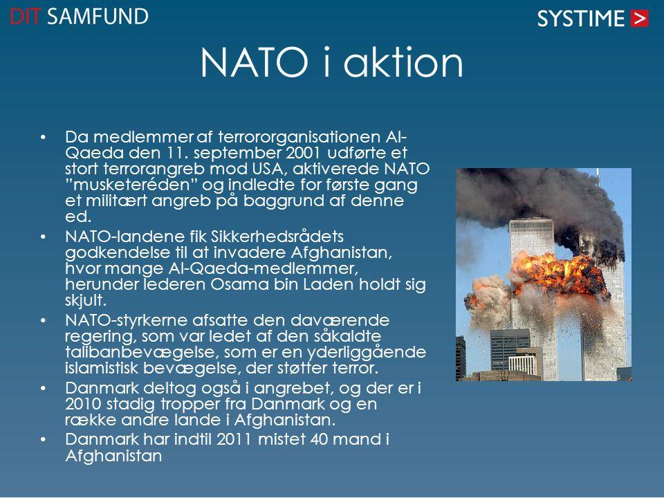 NATO i aktion