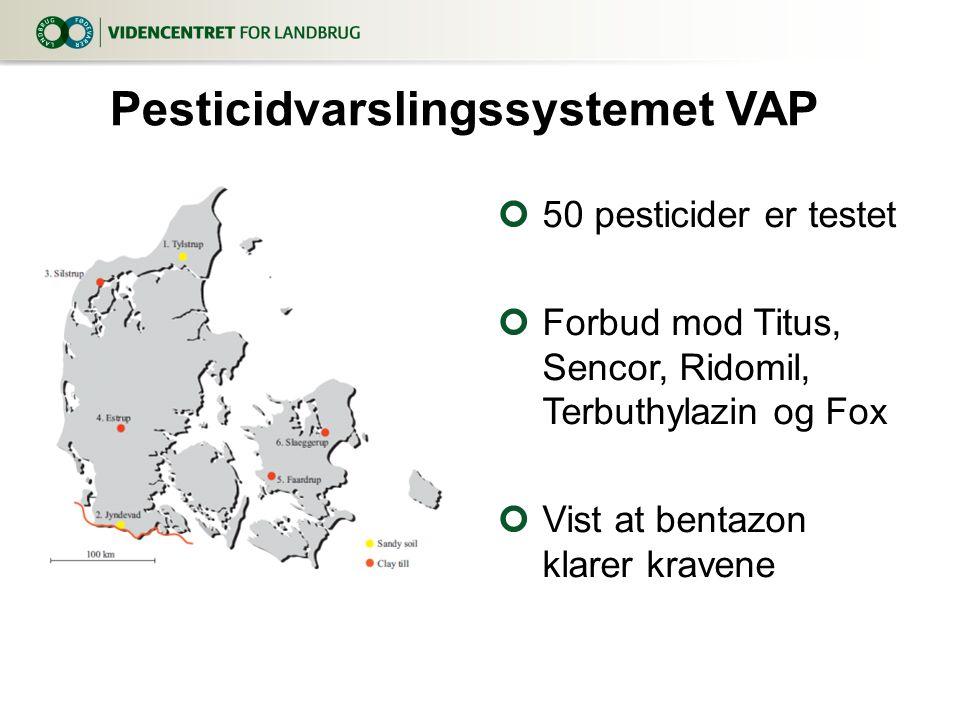Pesticidvarslingssystemet VAP