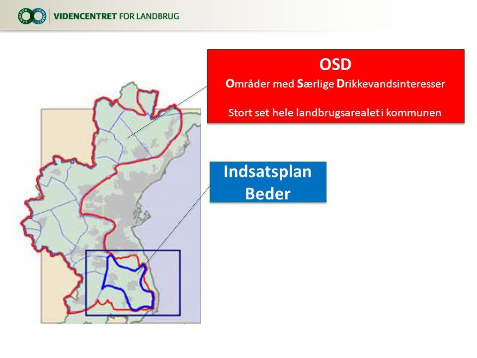 OSD Indsatsplan Beder Områder med Særlige Drikkevandsinteresser