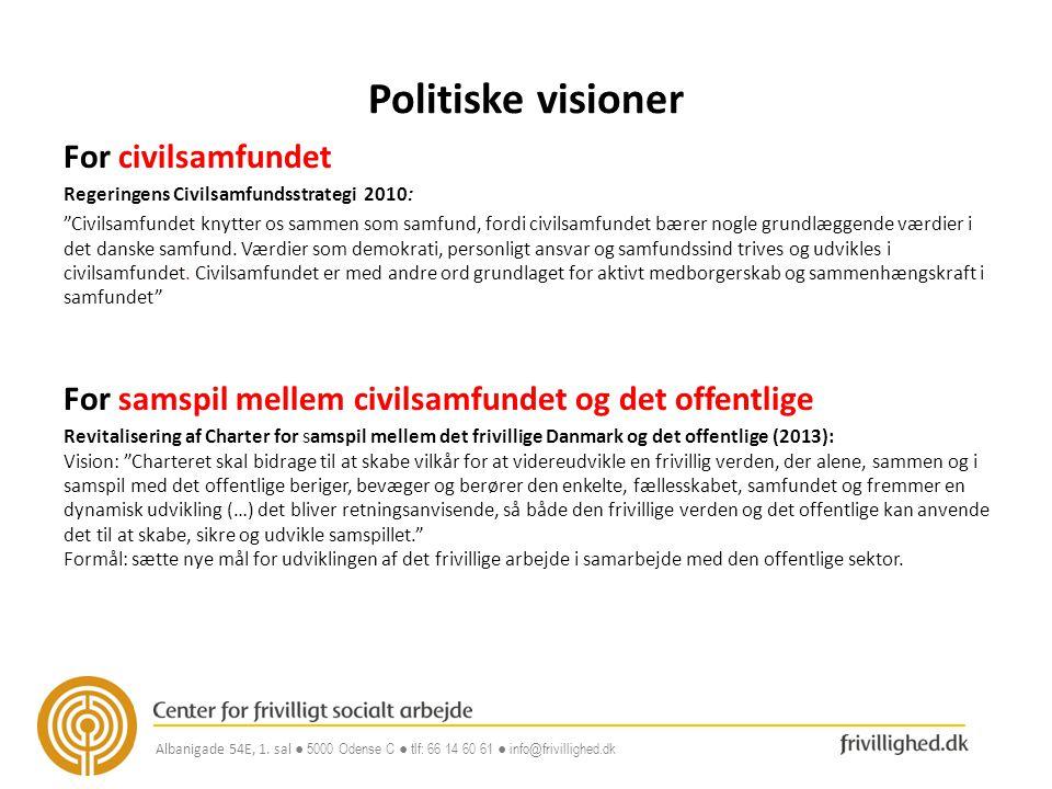 Politiske visioner For civilsamfundet