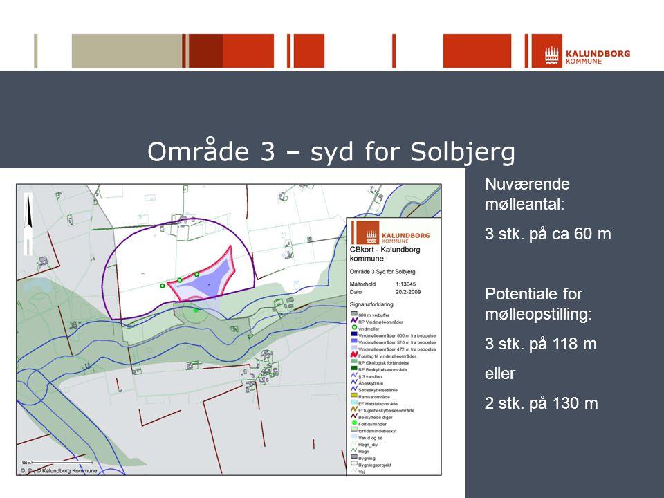 Område 3 – syd for Solbjerg