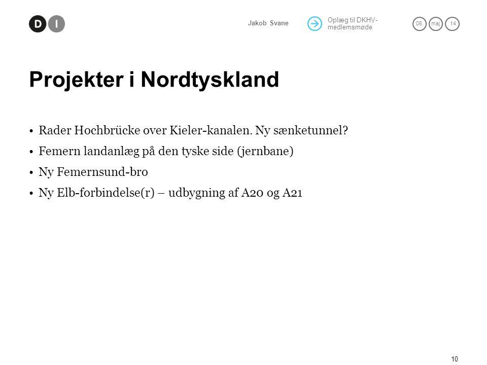 Projekter i Nordtyskland