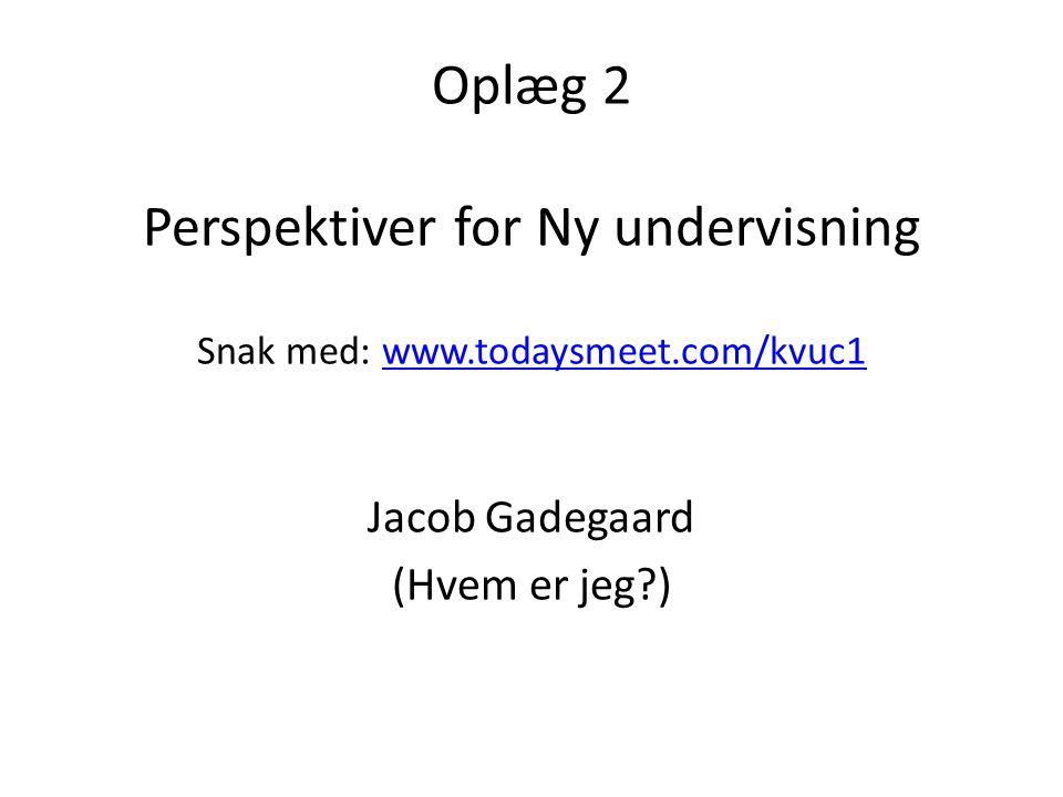 Jacob Gadegaard (Hvem er jeg )