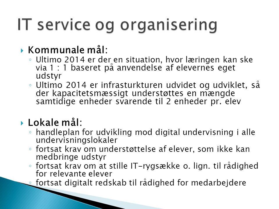 IT service og organisering