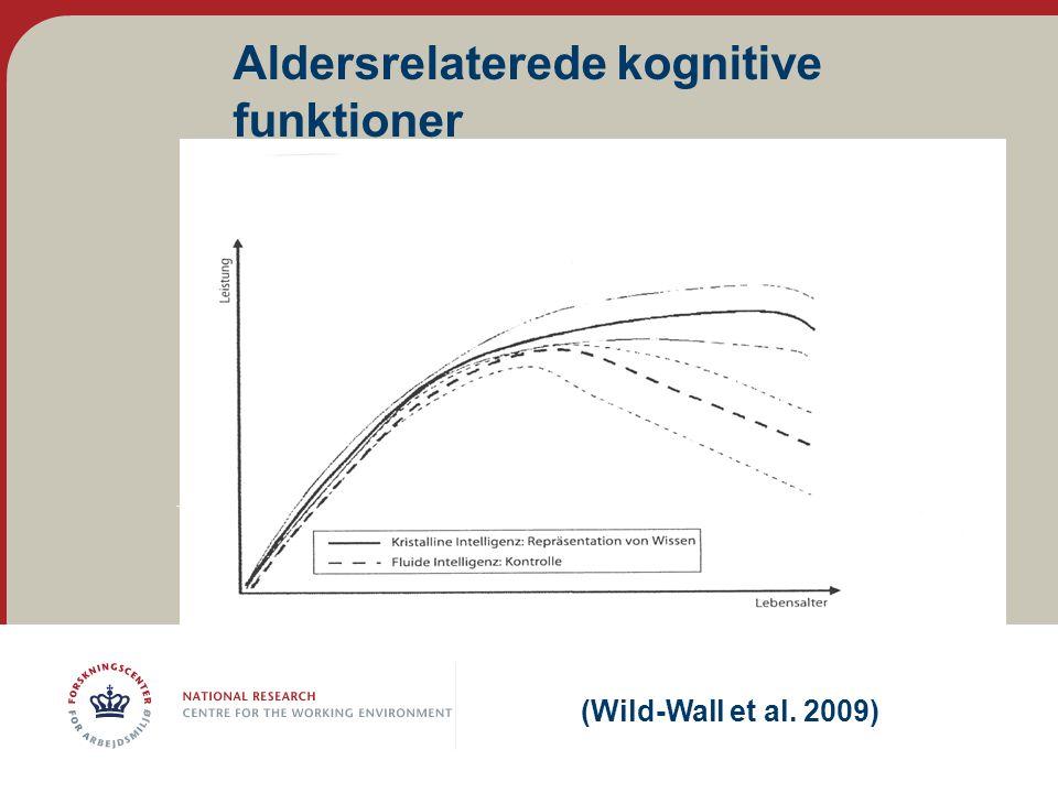 Aldersrelaterede kognitive funktioner