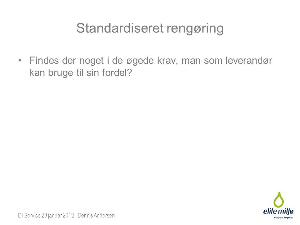 Standardiseret rengøring