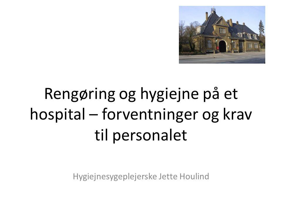 Hygiejnesygeplejerske Jette Houlind