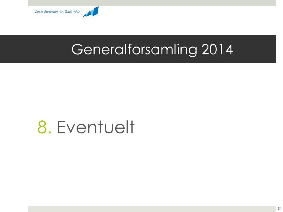 Generalforsamling 2014 8. Eventuelt