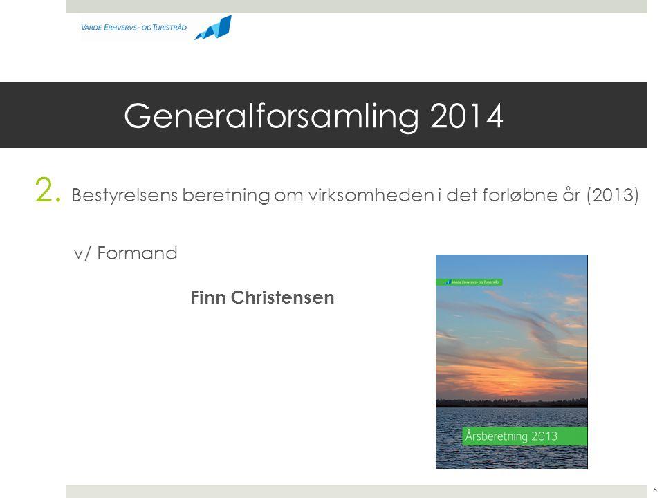 Generalforsamling 2014 v/ Formand