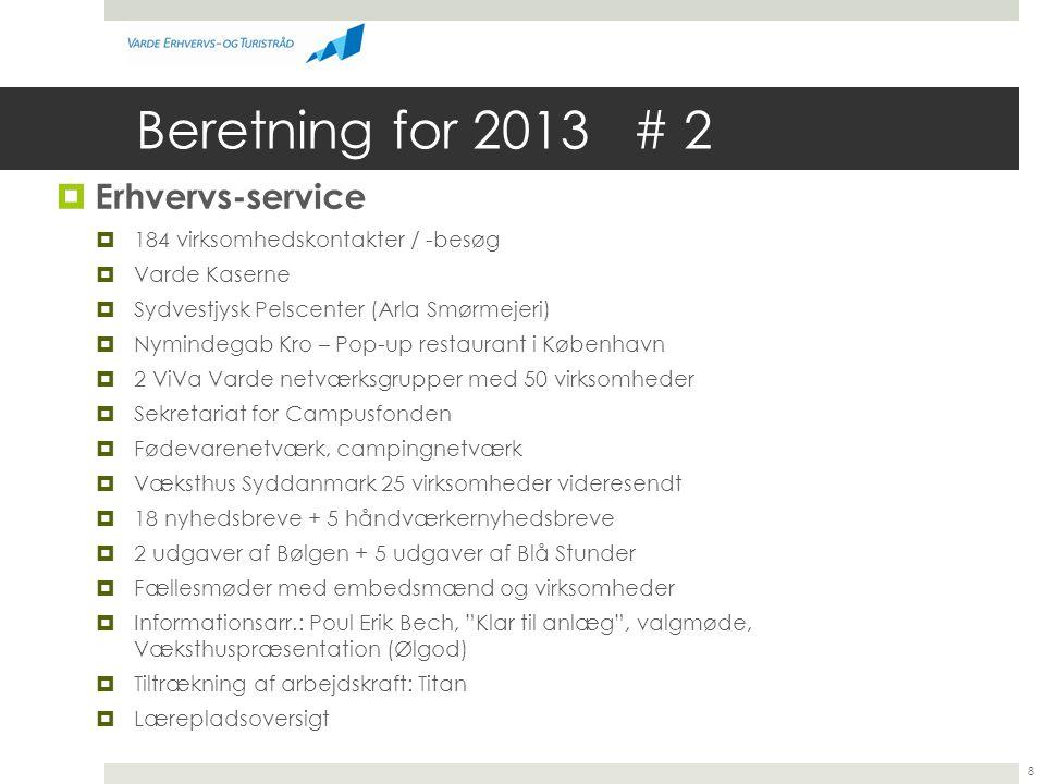 Beretning for 2013 # 2 Erhvervs-service