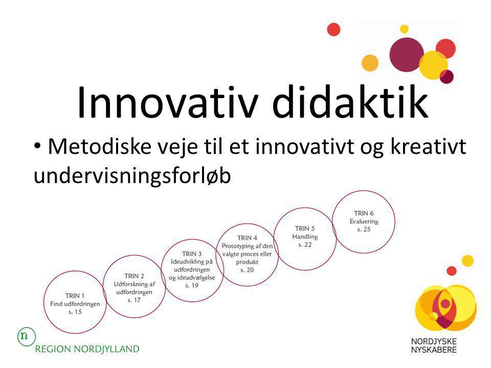 Innovativ didaktik Metodiske veje til et innovativt og kreativt undervisningsforløb
