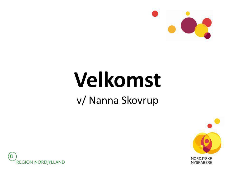 Velkomst v/ Nanna Skovrup
